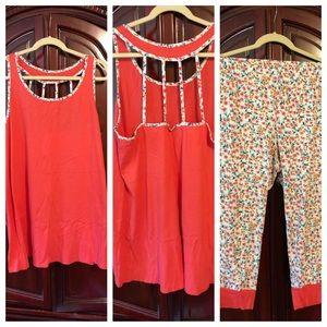 Lane Bryant Cacique Pajama Set 18/20